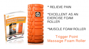 MyQuest Trigger Point Massage Foam Roller