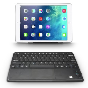1byone Bluetooth Keyboard With Trackpad with iPad