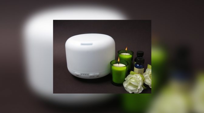 Welledia Breeze Aromatherapy Ultrasonic Essential Oil Diffuser/Humidifier