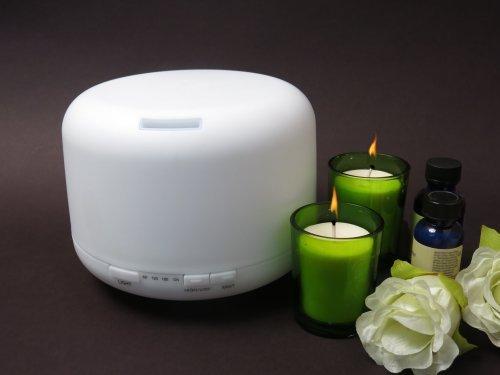 Welledia Breeze Aromatherapy Ultrasonic Essential Oil Diffuser/Humidifier
