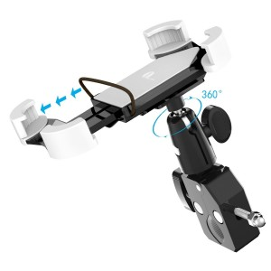 1byone Universal Adjustable Bike Mount for Cell Phones and GPS_Adjustable