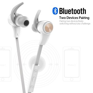 1byone bluetooth earphones two device pairing