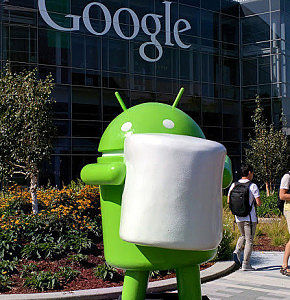 Marshmallow Android at Google