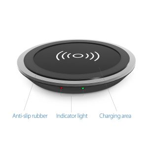1byone wireless charger lights
